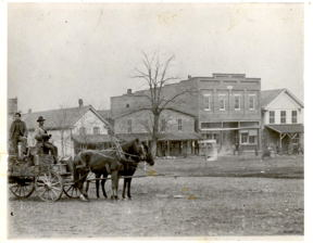 Street View of Old Downtown Elkton