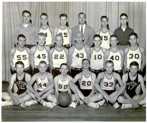 Boy's Basketball Team 1950's