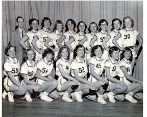 Girl's Basketball TEam 1950's