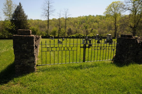 Bethany Cemetery on Newman Hollow Road