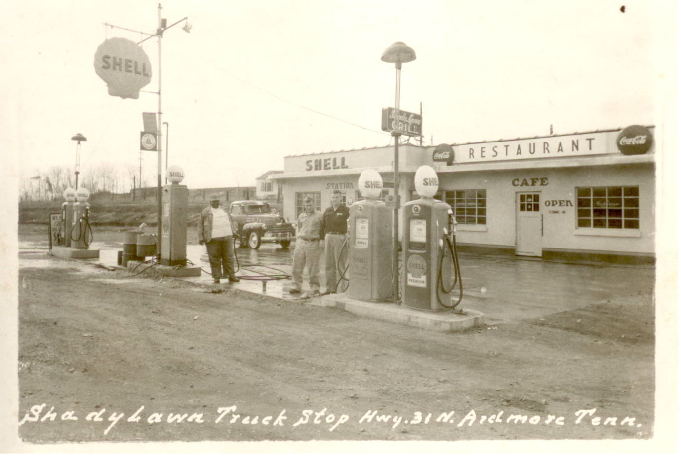 Old Shady Lawn Truck Stop